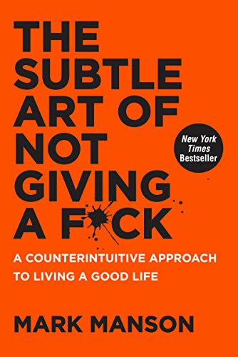 Subtle Art of Not Giving a F*ck Book Cover